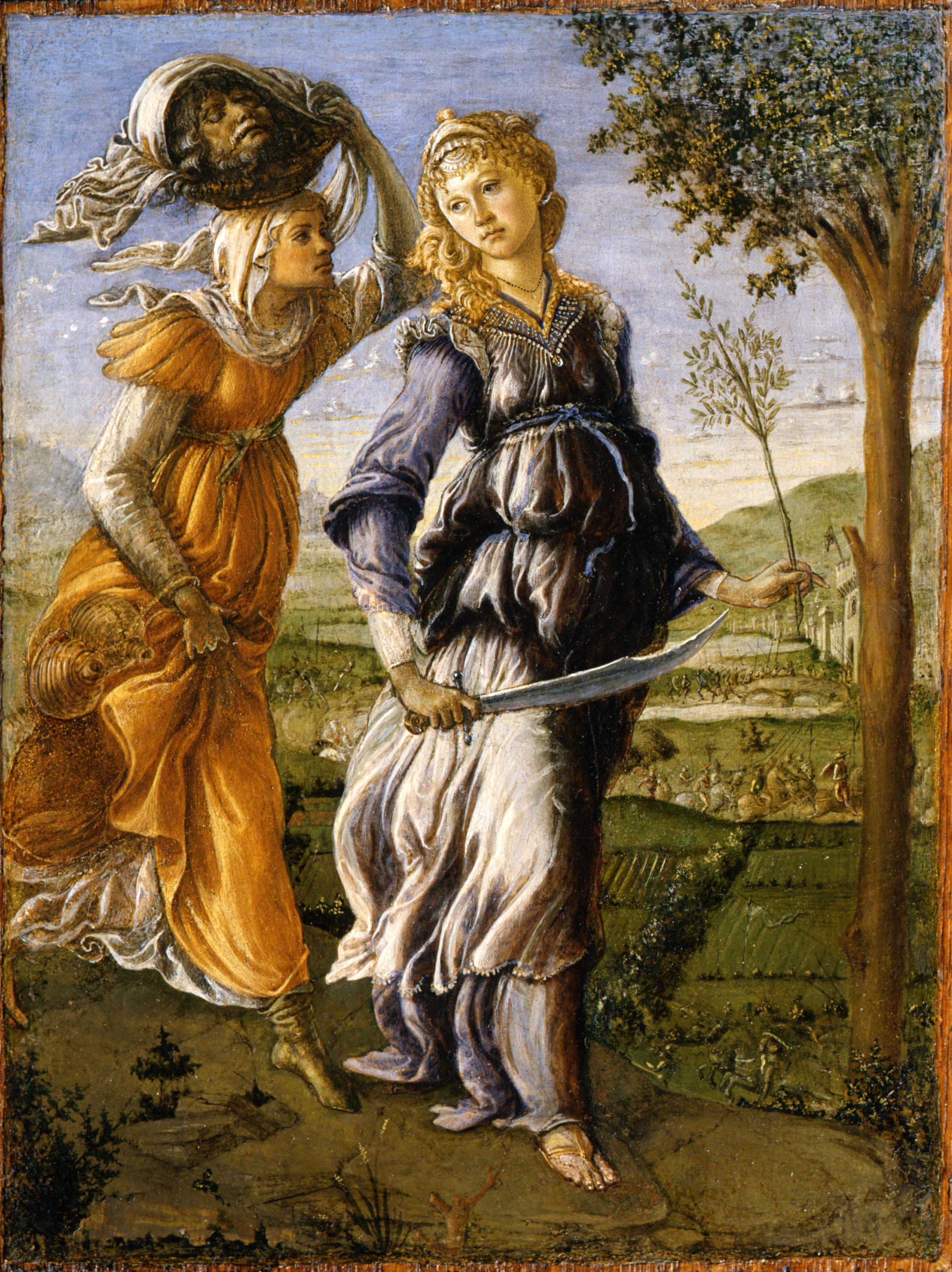 Giuditta Oloferne Botticelli