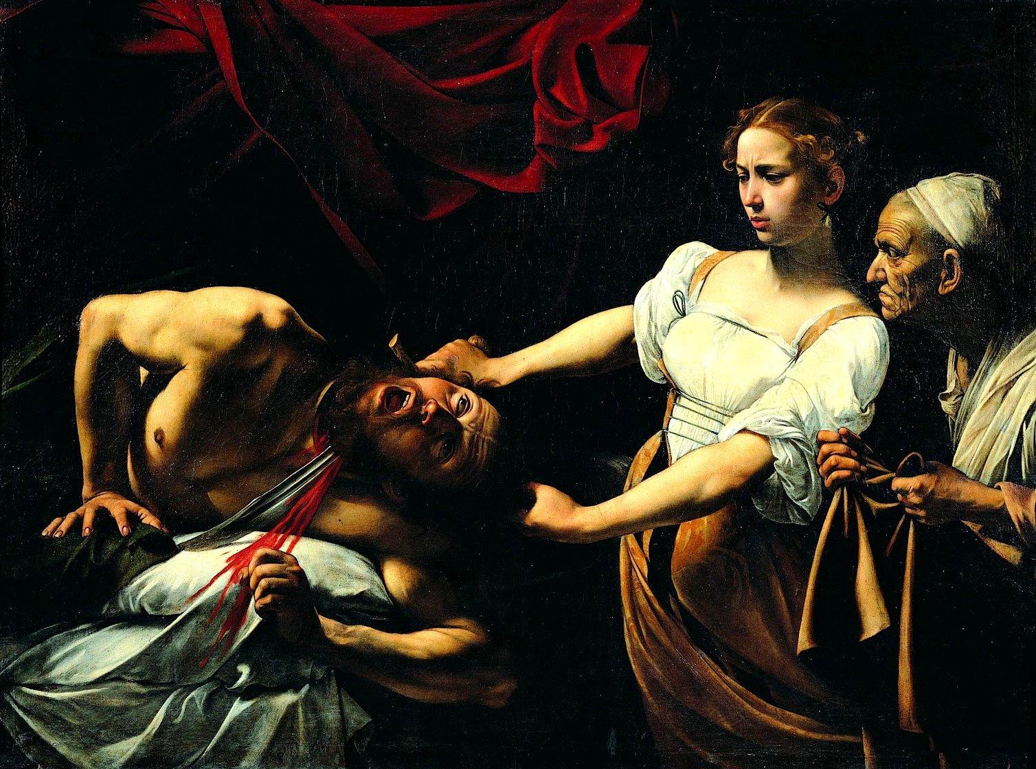 Giuditta Oloferne Caravaggio
