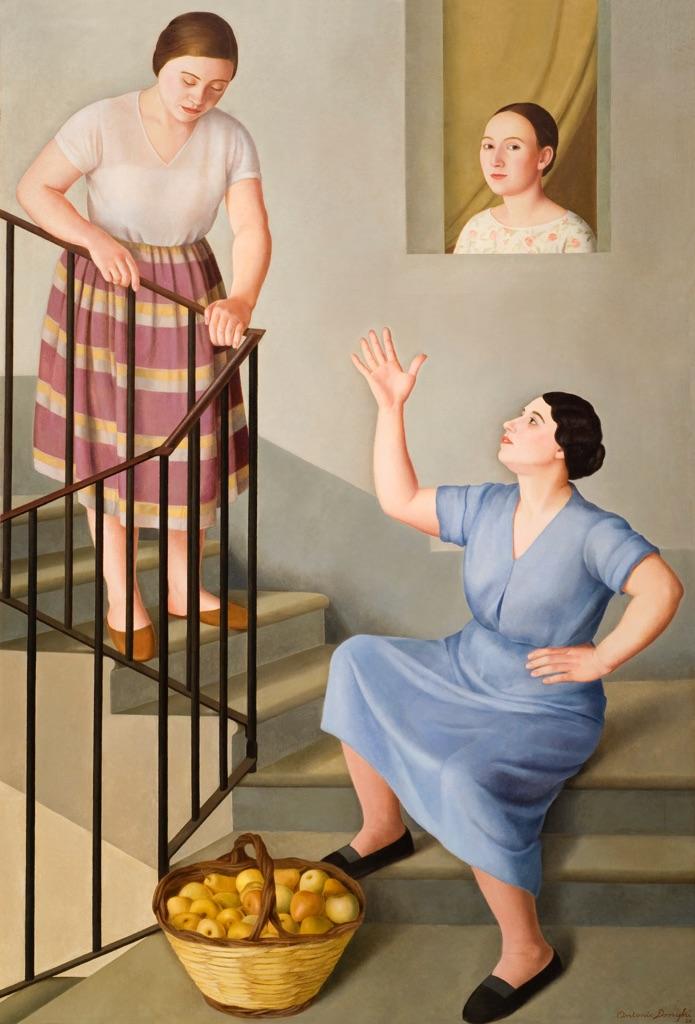 A. Donghi Donne per le scale